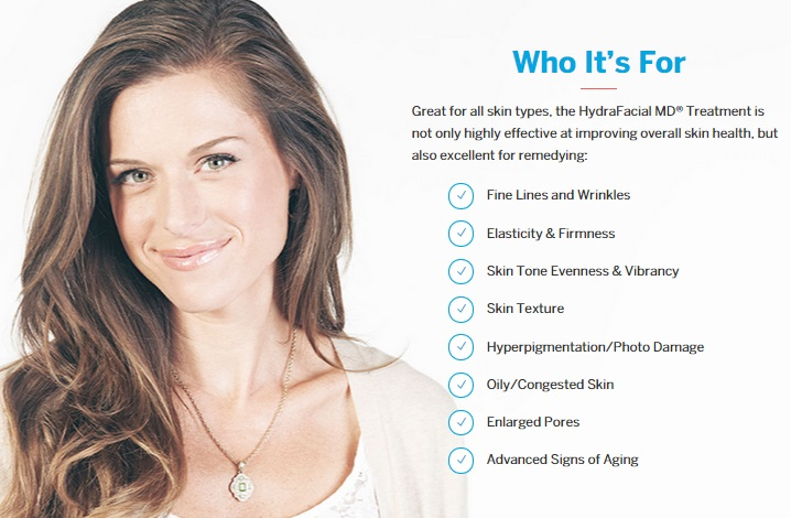 Who is HydraFacial MD for?